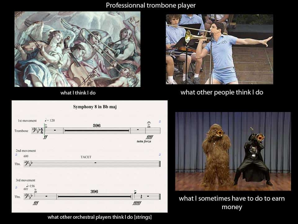 The Life Of A Professional Trombone Player