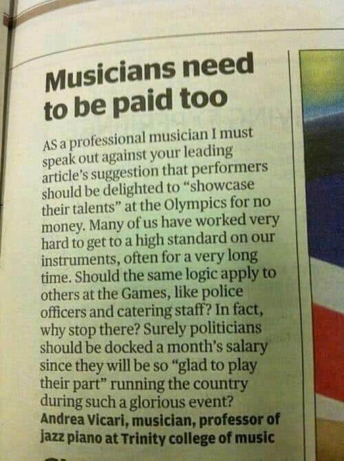 Andrea Vicari - Musicians Need To Be Paid Too