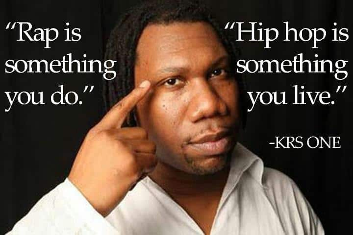 KRS One Quote
