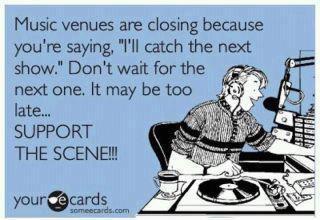 Music Venues Closing