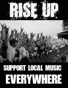 Rise Up Support - Local Music Everywhere