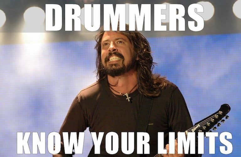 Drummers Know Your Limits