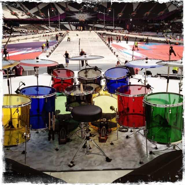 Zak Starkey's Drum Kit London 2012