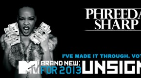 Phreeda Sharp [@phreedasharp] for Mtv Brand New 2013!!!