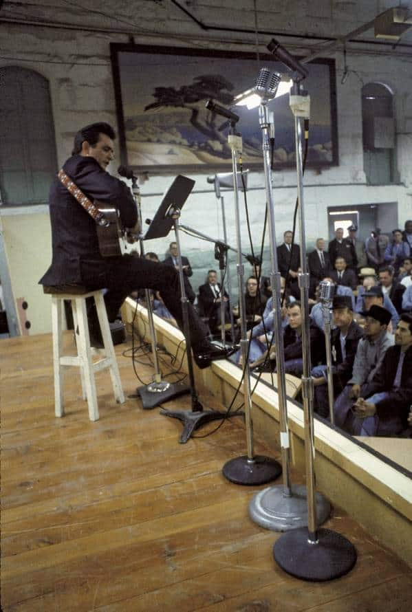 Johnny Cash Performing For Prisoners at Folsom Prison - Jan 13th 1968