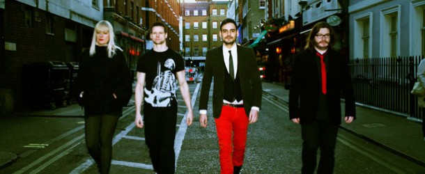 Music Week.com featured artist, indie-rock band E-MUTE hits the charts