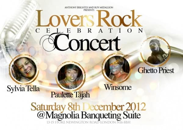 Lovers Rock Celebration Concert