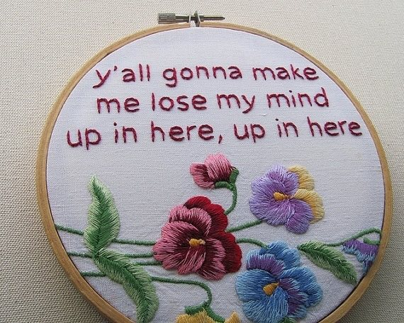 Needlepoint Is So Relaxing