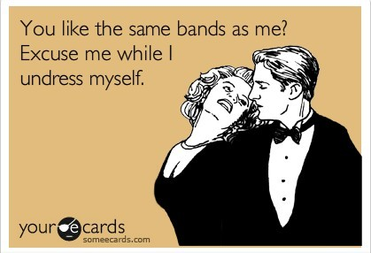 You Like The Same Bands As Me?