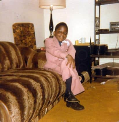 Notorious BIG, 6 yrs old, just graduated kindergarten