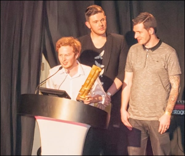 Ali Ingle - Male Artist Of The Year 2012 Liverpool Music Awards