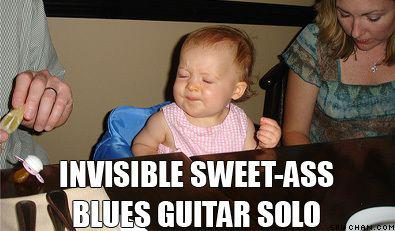 Invisible Sweet Ass Blues Guitar Solo