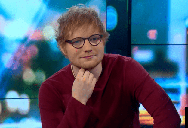 watch ed sheeran 39 s heartfelt message to fan with cancer. Black Bedroom Furniture Sets. Home Design Ideas