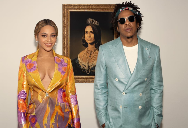 Watch Beyoncè and Jay-Z pay tribute to Meghan Markle in BRIT Awards acceptance speech