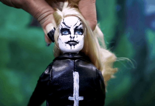 Black Metal Barbie is the relatable doll we all need