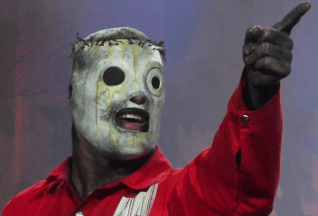 Slipknot's Corey Taylor teases at new mask ahead of album release