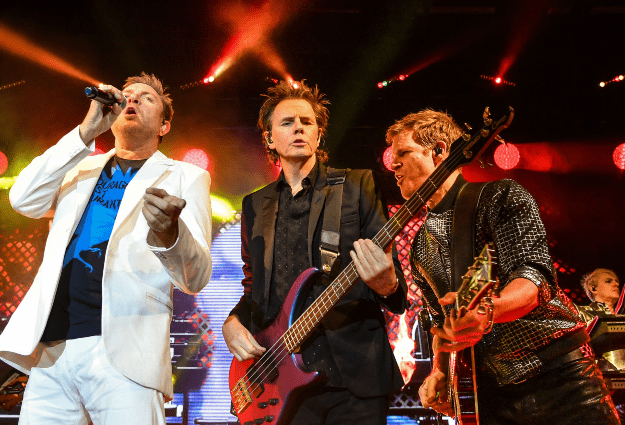 """Duran Duran had """"300 swarming drones"""" at Apollo 11 moon landing anniversary gig"""