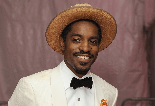 Notoriously private rapper André 3000 seen and heard playing double flute in Philadelphia, LA and New York