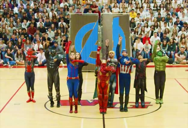Watch: School dance group goes viral with Avengers-inspired routine