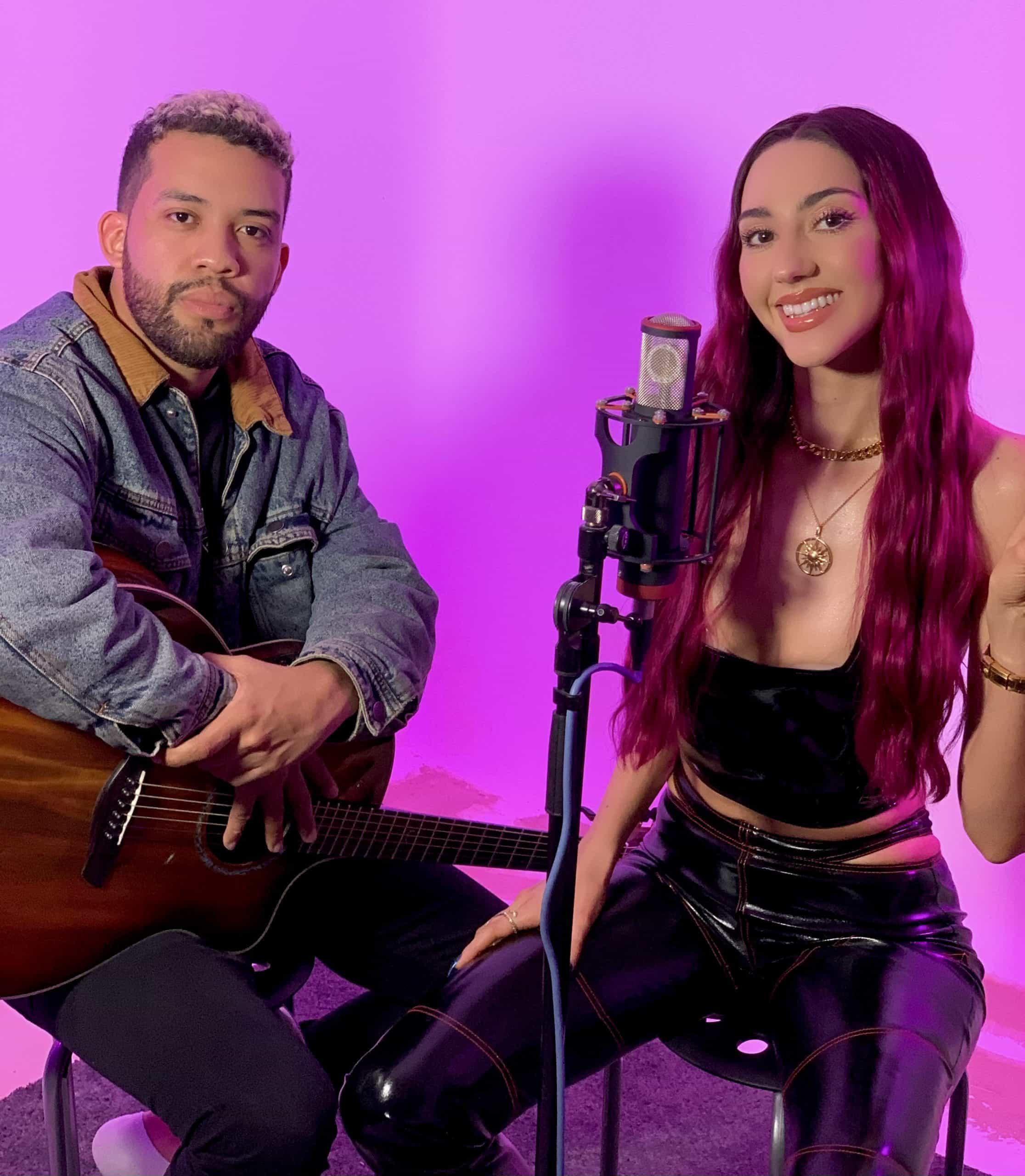 Amber Donoso records acoustic performance of new single 'Candela'